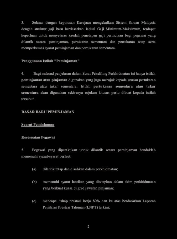 Surat Pekeliling Perkhidmatan Bilangan 2 Tahun 2012 Pekeliling Perkhidmatan Bilangan 2 Tahun 2012 Pdf Document