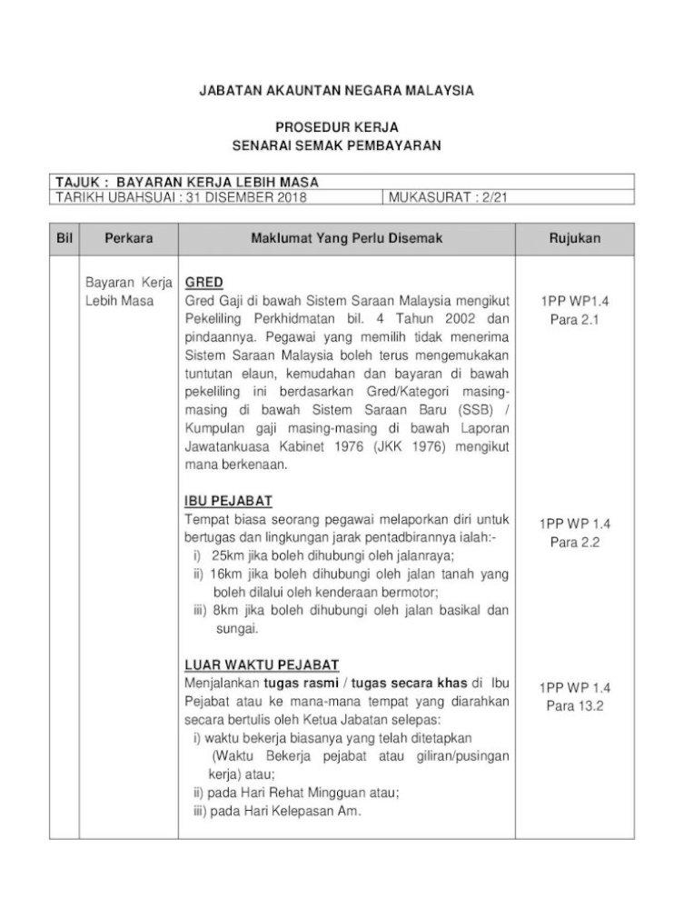Jabatan Akauntan Negara Malaysia Anm Gov My Semak Perakauanan Gaji Elaun Tugas Yang Berkaitan Pdf Document