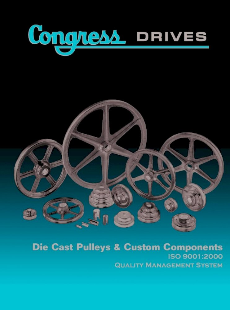 Chicago Die Casting 3x3//4 Pulley 300A7